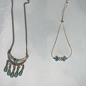 Jewelry - Baby Blue Necklace (comes with anklet)